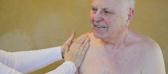 Seniorenmassage